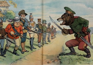 Highlights for Warspot: the Russian Empire through the eyes of American cartoonists | Warspot.net