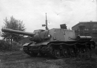 SU-152 and ISU-152 Tactics | Warspot.net