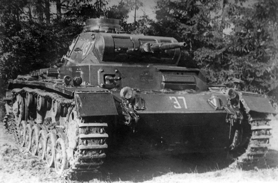 ​The same tank at the NIBT Proving Grounds in September of 1941. The number 37 indicates the caliber of the gun - A Timely Purchase | Warspot.net