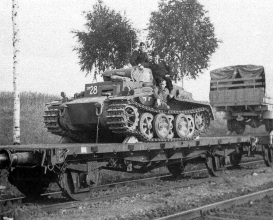 ​Arrival of the 2nd Police Tank Company. Towards the end of its career, the PzI Ausf. F was mostly used for punishment operations - Pz.Kpfw.I Ausf. F: Pocket Tiger | Warspot.net
