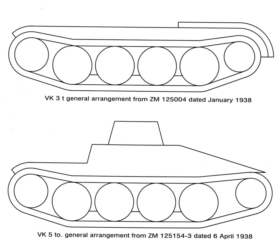 ​As you can see, the initial concept of Krauss-Maffei's light tank differed little from the La.S. - Pz.Kpfw.I Ausf. C: Kniepkamp's Latecomer | Warspot.net