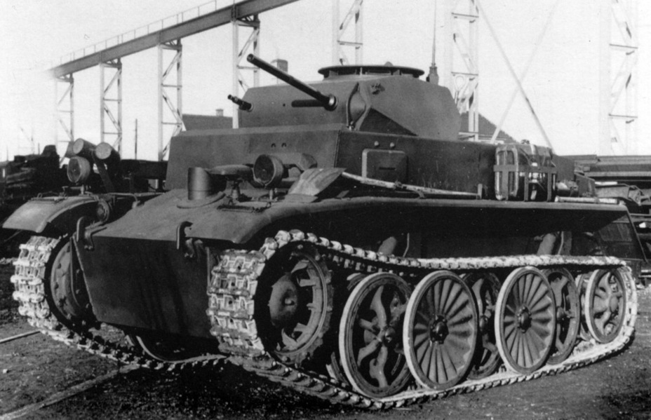 ​The first production PzI Ausf. C tank, summer of 1942. Later, it will end up on the Eastern Front - Pz.Kpfw.I Ausf. C: Kniepkamp's Latecomer | Warspot.net