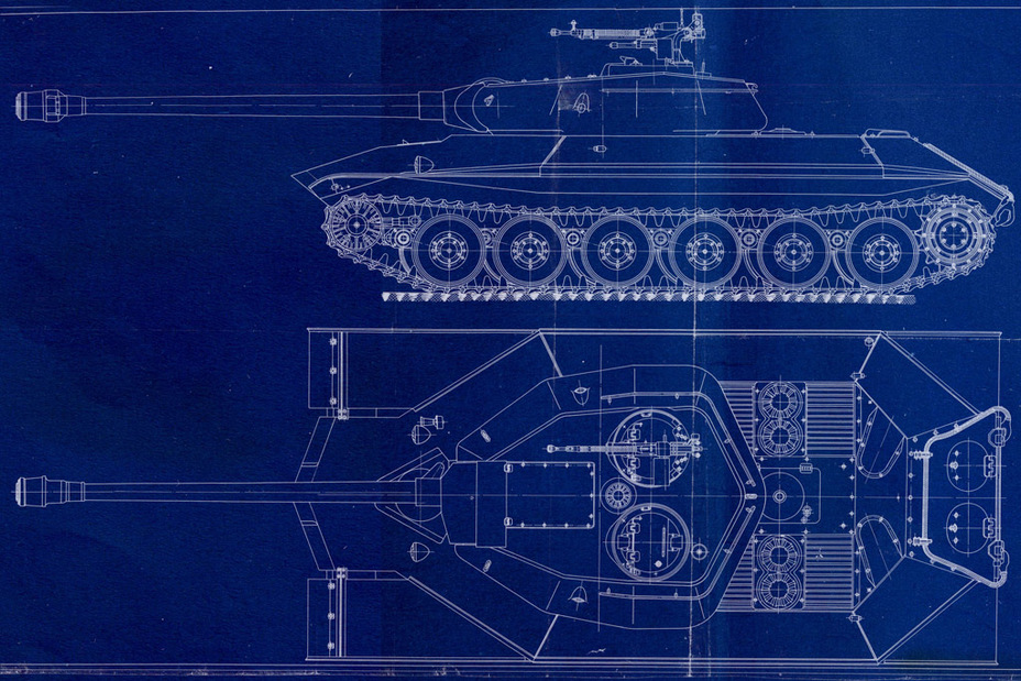 ​Design of the IS-6 (Object 252) with a redesigned hull and turret, dated end of November, 1944. This was the foundation of the future Object 257 - Object 257: The First IS-7 | Warspot.net
