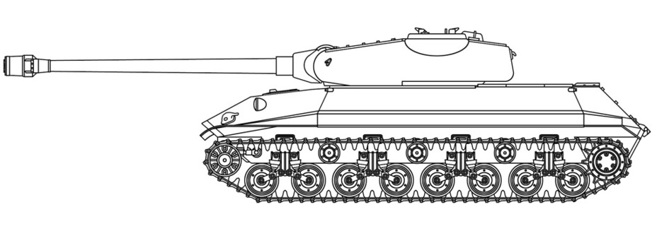 ​A reconstruction of the Object 257 by Vsevolod Martynenko - Object 257: The First IS-7 | Warspot.net