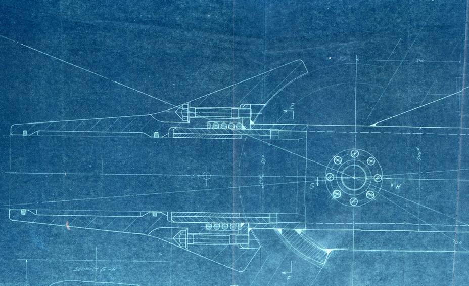 ​Blueprint for a 15 cm StuK L/68 mount in an SPG on the E-100 chassis - Superheavy Paper Tank Destoyers | Warspot.net