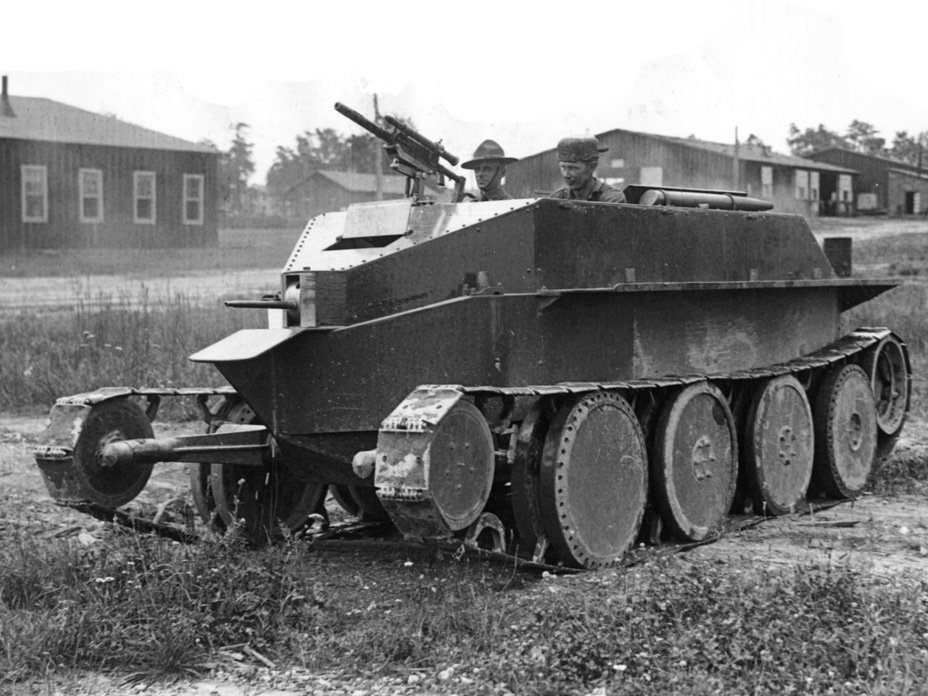 ​Christie M.1928 on trials, Fort Meade, July 1929 - The Tank Patriarch | Warspot.net