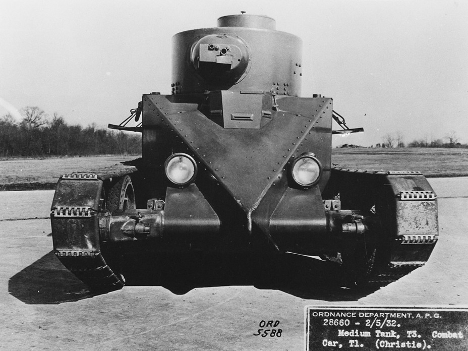 ​Convertible Medium Tank T3 at Aberdeen Proving Grounds - The Tank Patriarch | Warspot.net