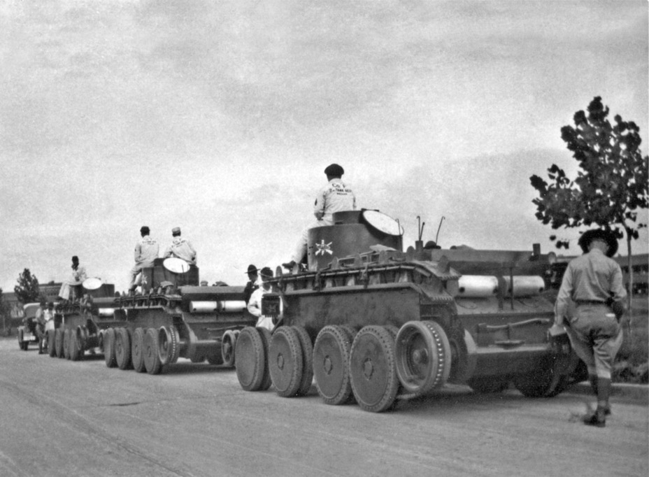 ​A column of Convertible Medium Tanks T3 - The Tank Patriarch | Warspot.net