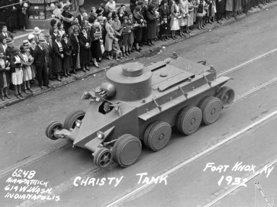 ​Demonstration of the Combat Car T1, 1932 - The Tank Patriarch | Warspot.net