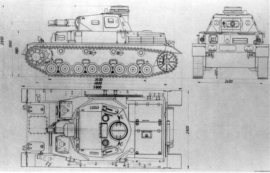​PzIV Ausf. D in its initial configuration. The tank would look slightly different built in metal - Pz.Kpfw.IV Ausf. D through E | Warspot.net