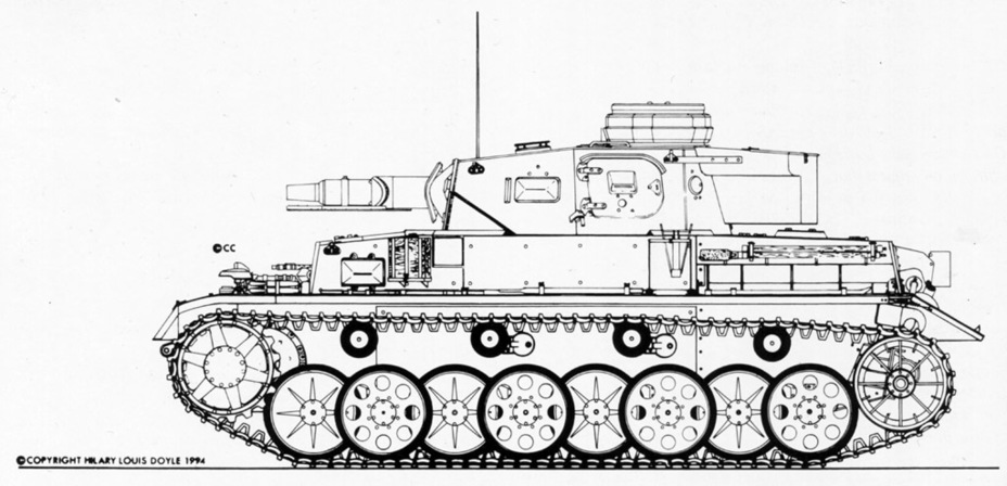 ​Pz.Kpfw.IV Ausf.E 81005 and 81006 had a new suspension - Pz.Kpfw.IV Ausf. D through E | Warspot.net