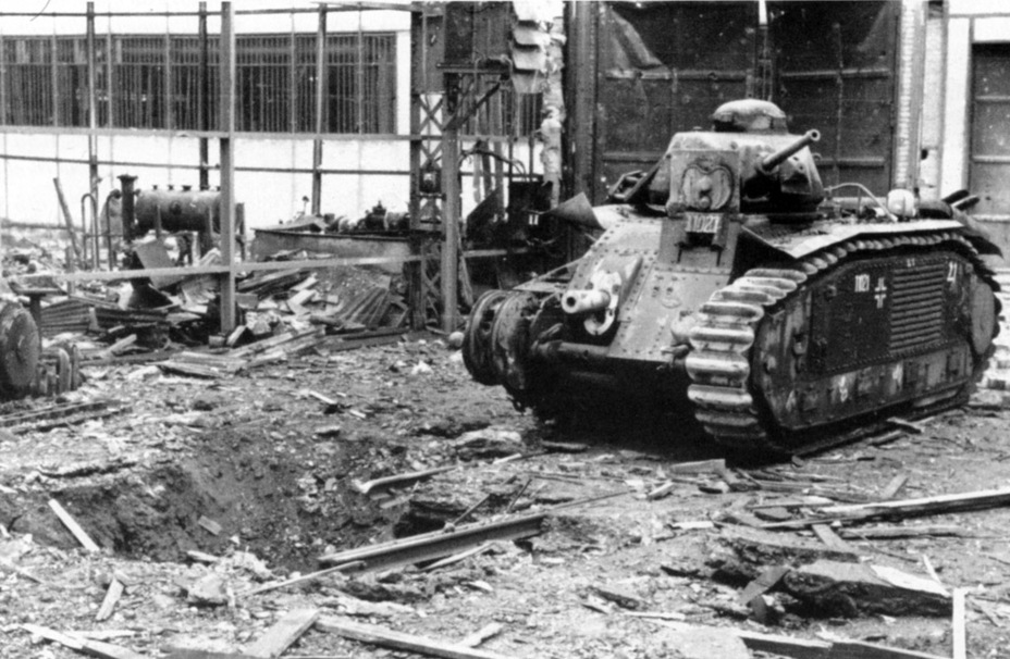 ​Results of bombing the Boulogne-Billancourt factory, March 4th, 1942 - Char B in German Service | Warspot.net
