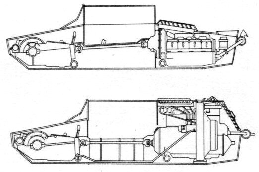 ​Cutaway of the Vickers 6-ton (above) and the 7TP (below) - 7TP: Polish Vickers | Warspot.net