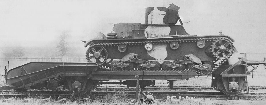 ​Second 7TP prototype used as an armoured draisine - 7TP: Polish Vickers | Warspot.net