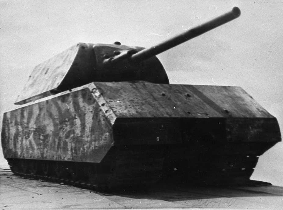 ​German superheavy tank, NIABT proving grounds, Kubinka, 1946 - Superheavy Trophy | Warspot.net