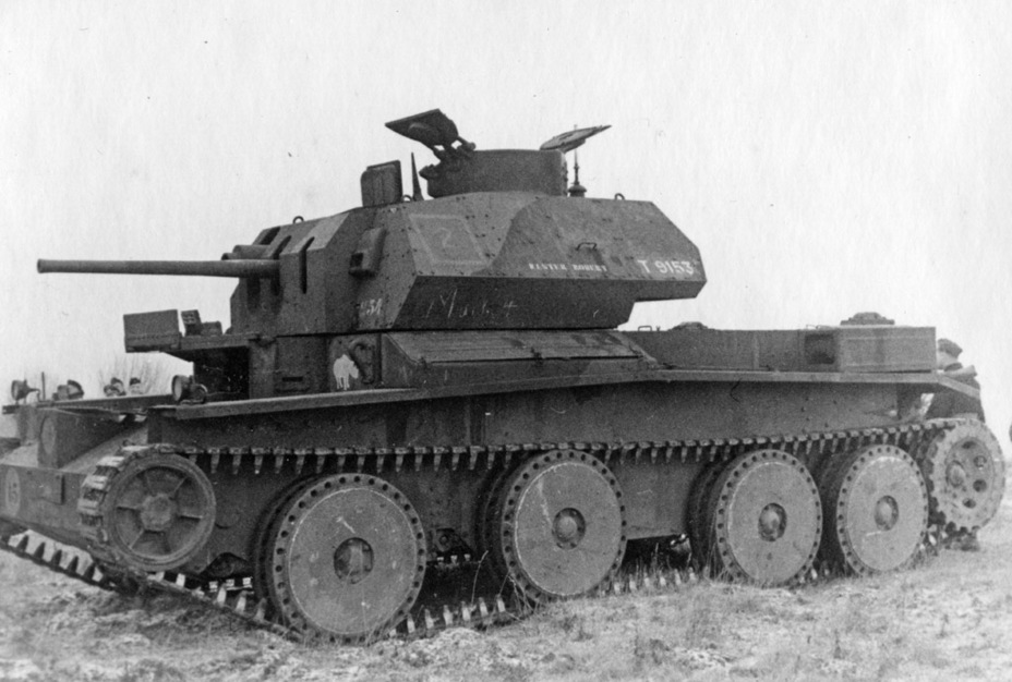 ​Cruiser Tank Mk.IV with spaced armour on the gun mantlet - Cruiser IV: A Bit More Armour | Warspot.net