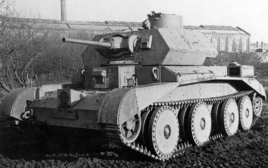 ​Late Cruiser Tank Mk.IVA, the most numerous modification. - Cruiser IV: A Bit More Armour | Warspot.net