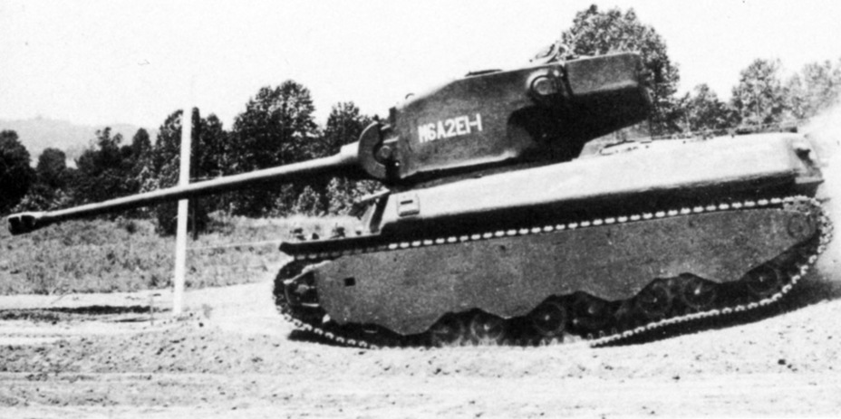 ​First M6A2E1 prototype on mobility trials - M6A2E1: The Heavy Clownshoe | Warspot.net