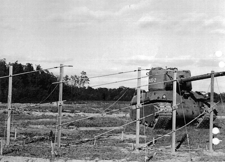 ​Second M6A2E1 prototype, October 3rd, 1945 - M6A2E1: The Heavy Clownshoe | Warspot.net