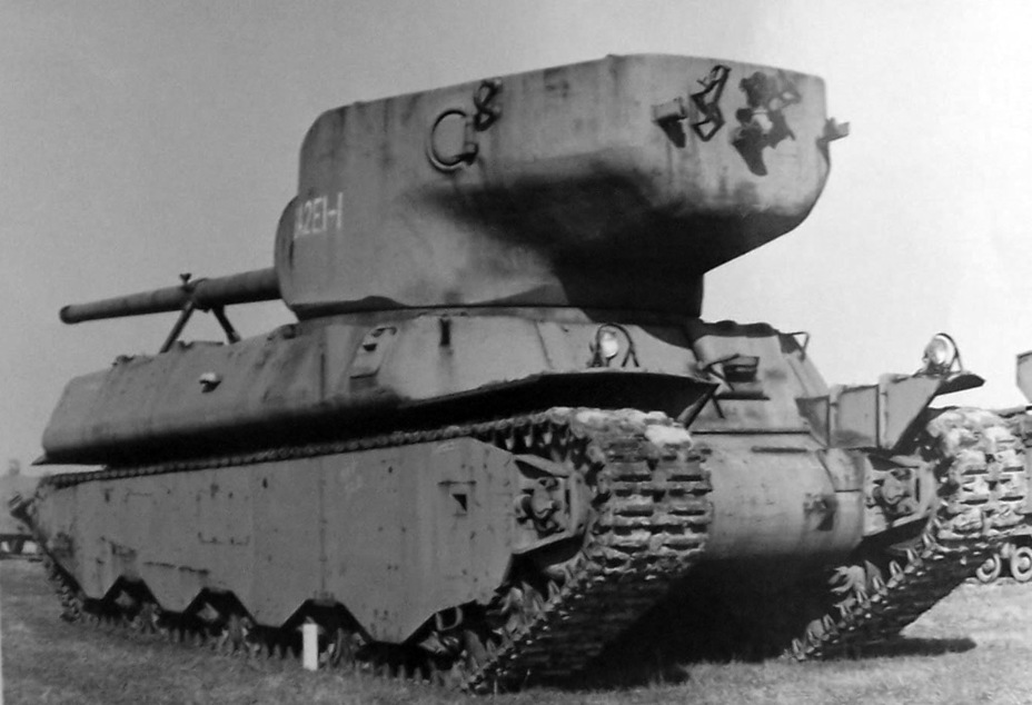 ​Potentially the last «living» photograph of the M6A2E1 first prototype. Several years later, the tank was scrapped - M6A2E1: The Heavy Clownshoe | Warspot.net