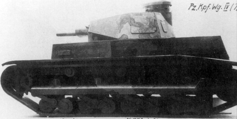​Wooden model of the Rheinmetall B.W. This is how the tank was supposed to enter production - Begleitwagen: A Specialist of All Trades | Warspot.net