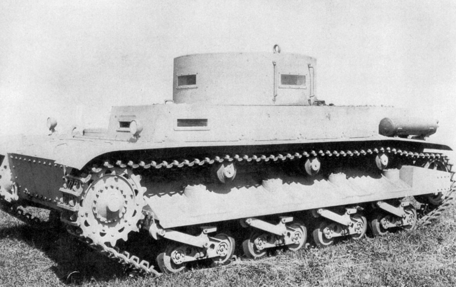​B.W. experimental chassis, summer of 1938. The spaced armour covering the idler and the muffler on the fender are visible - Begleitwagen: A Specialist of All Trades | Warspot.net