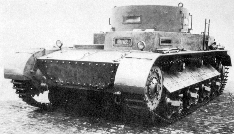 ​The front of the improved Begleitwagen. The large transmission access hatches are visible. This solution made the transmission easier to service, but was not the greatest for shell resistance - Begleitwagen: A Specialist of All Trades | Warspot.net