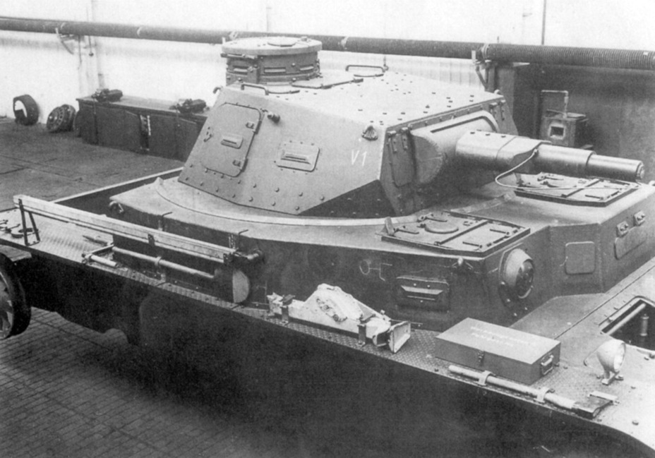 ​Externally, the first B.W. looks very similar to the PzIV Ausf. A. The similarity is misleading. The tank underwent significant changes, both on the inside and the outside, before it entered production - Begleitwagen: A Specialist of All Trades | Warspot.net