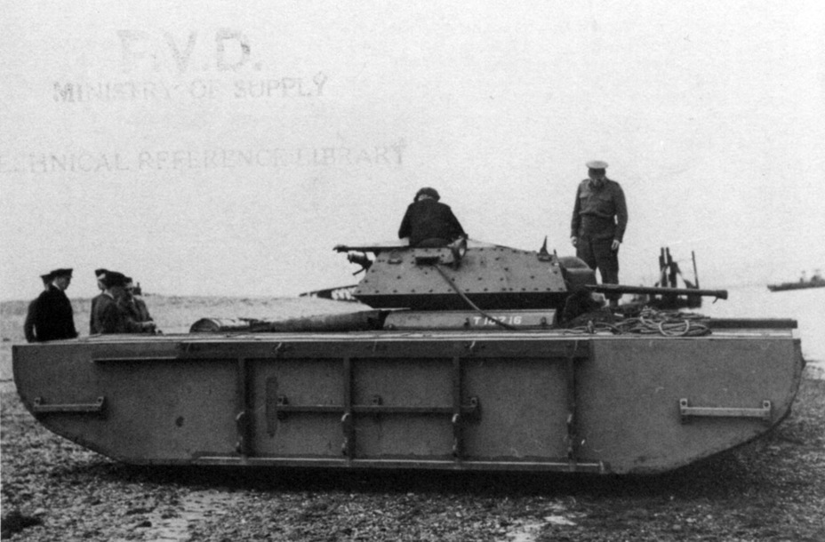 ​Covenanter tanks took part in may experiments. For instance, amphibious equipment was tested on this model - Covenanter: Reservist Tank | Warspot.net
