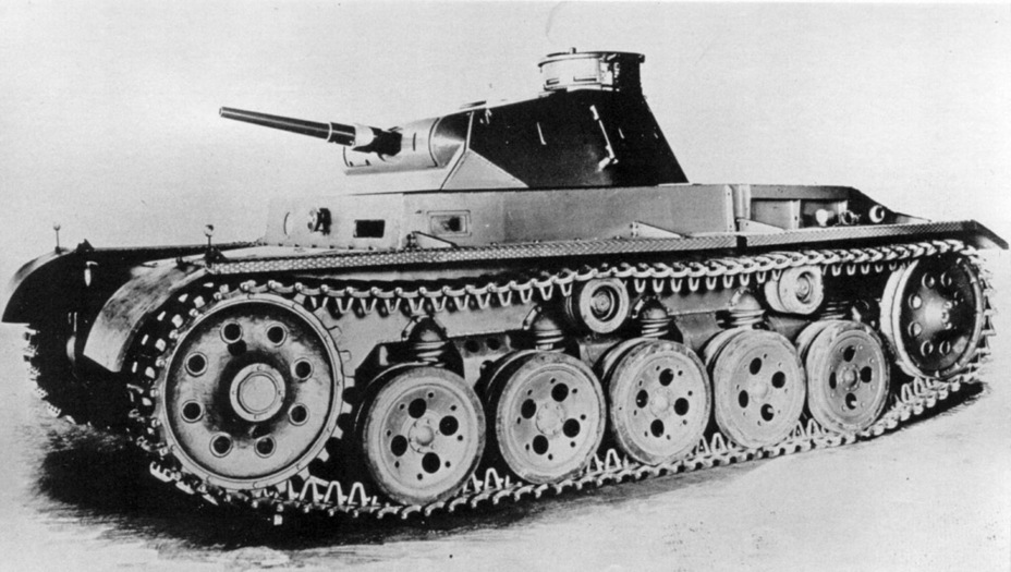 ​The second Z.W. was built with a Krupp turret - Pz.Kpfw.III Ausf. A: Christie, German Style | Warspot.net