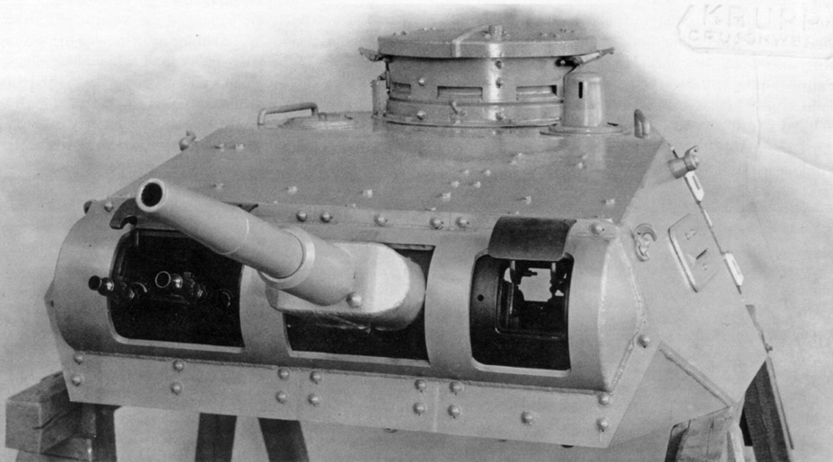 ​This turret went on to initial production PzIIIs - Pz.Kpfw.III Ausf. A: Christie, German Style | Warspot.net