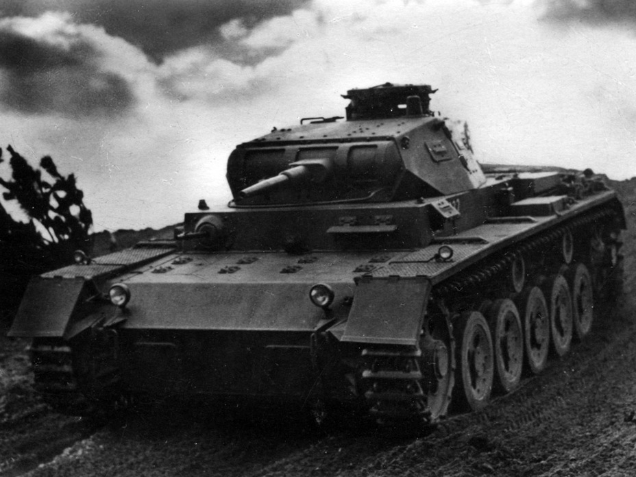 ​Mass production PzIII Ausf. A from the 5th Tank Regiment, 3rd Tank Division - Pz.Kpfw.III Ausf. A: Christie, German Style | Warspot.net