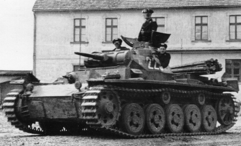 ​Tank from the 1st Tank Regiment, 1st Tank Division during fighting in Poland. September 1939 - Pz.Kpfw.III Ausf. A: Christie, German Style | Warspot.net