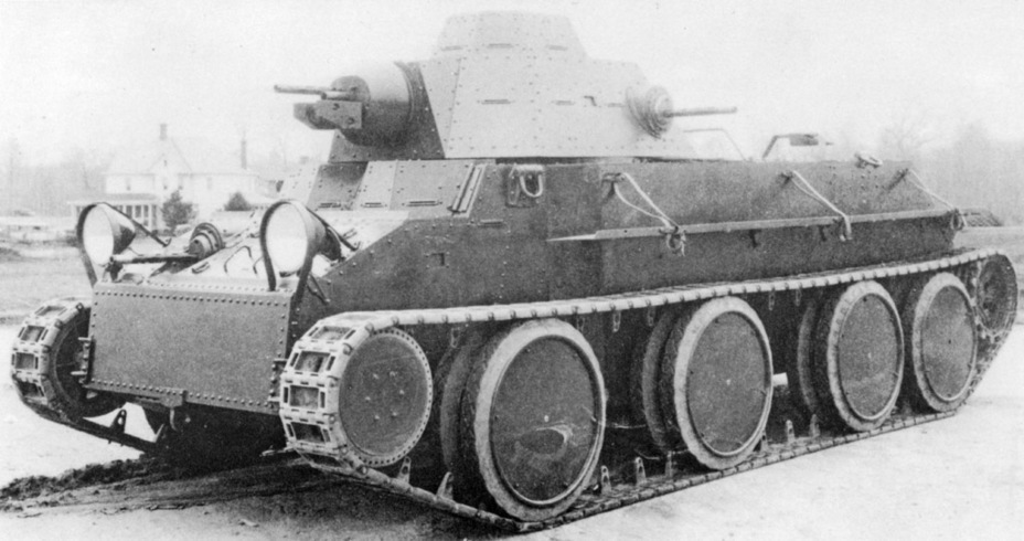 ​Convertible Medium Tank T3E2. It is noticeably different from Christie's initial design - Combat Car T4: Christie Style | Warspot.net