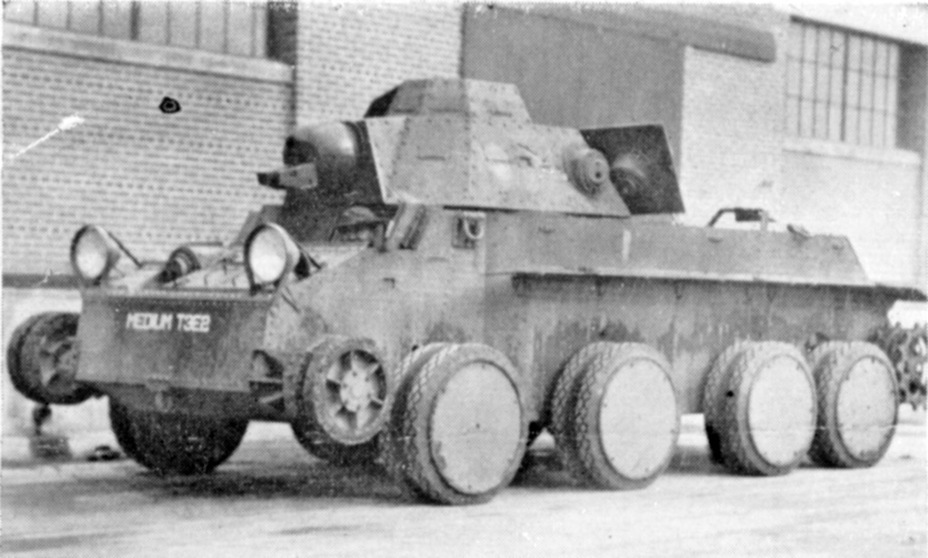 ​The same tank on wheels - Combat Car T4: Christie Style | Warspot.net