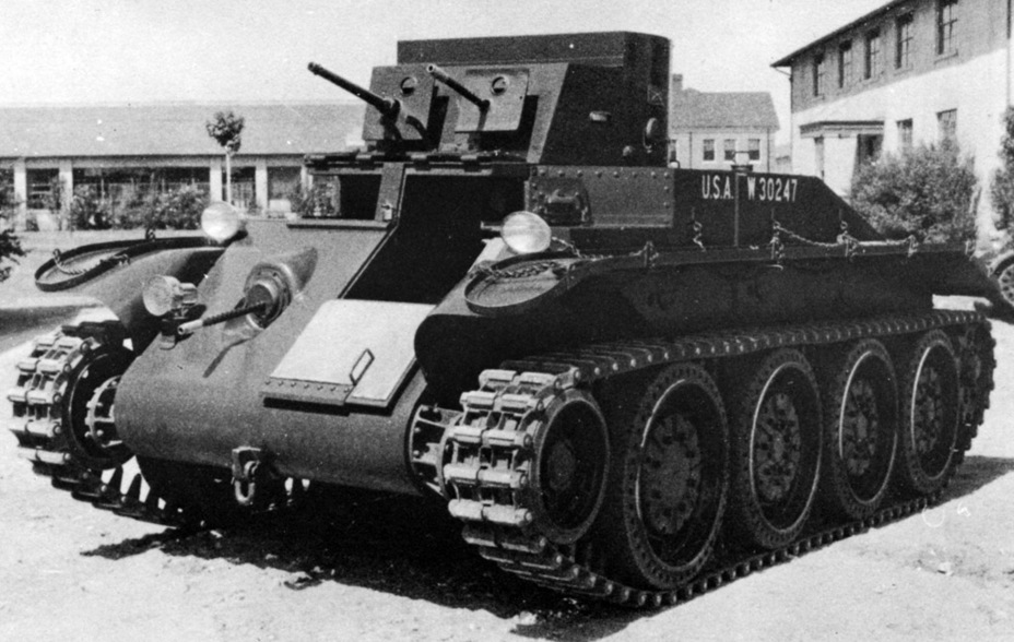 ​Convertible Medium Tank T4. Even though it was based on the Combat Car T4E1, it had many differences - Combat Car T4: Christie Style | Warspot.net