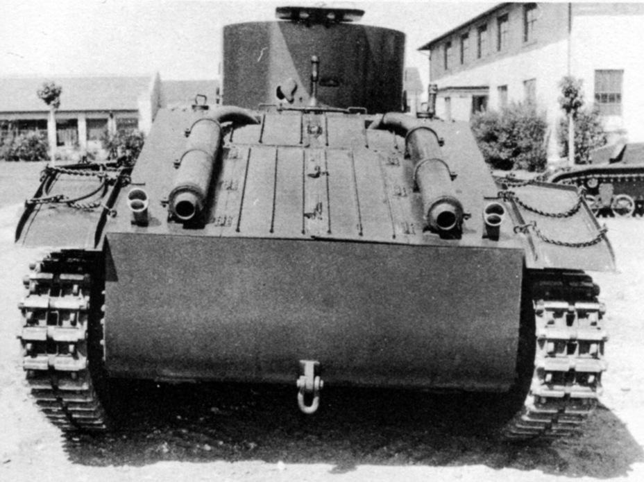 ​The rear of the Convertible Medium Tank T4 was also different - Combat Car T4: Christie Style | Warspot.net