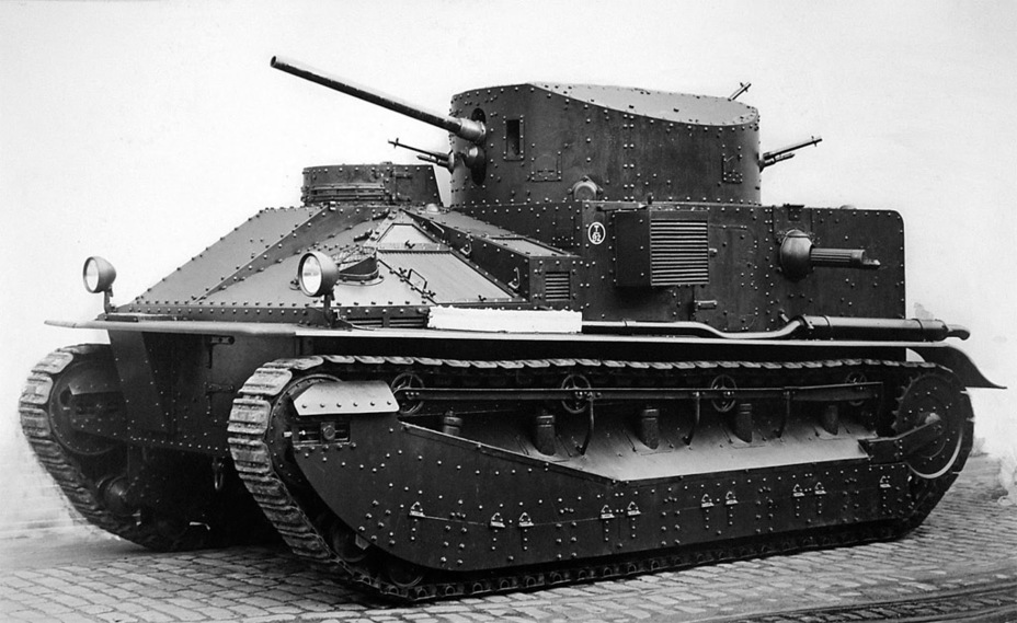 ​Early production Medium Mk.II produced by ROF Woolwich - Medium Tank Mk.II: Interbellum Long-Liver | Warspot.net