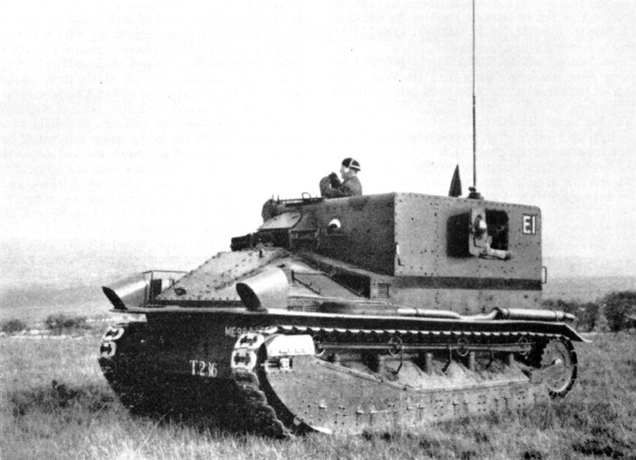 ​One of the two Medium Mk.II Box Tank - Medium Tank Mk.II: Interbellum Long-Liver | Warspot.net