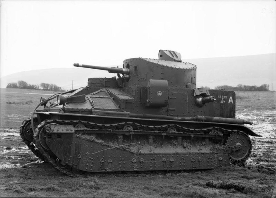 ​Medium Tank Mk.IIA. The tank with WD number T.427 was the last to be used by the British army - Medium Tank Mk.II: Interbellum Long-Liver | Warspot.net