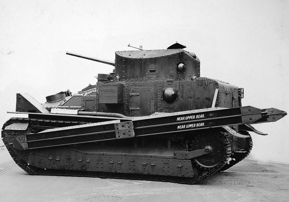​Experimental droppable bridge, 1926 - Medium Tank Mk.II: Interbellum Long-Liver | Warspot.net