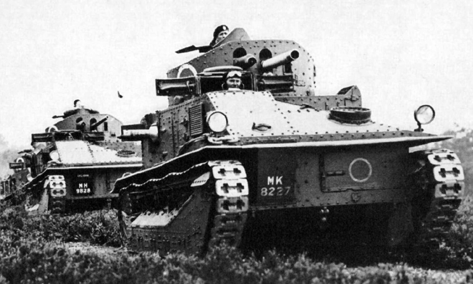 ​Medium Tank Mk.IIA CS on maneuvers - Medium Tank Mk.II: Interbellum Long-Liver | Warspot.net