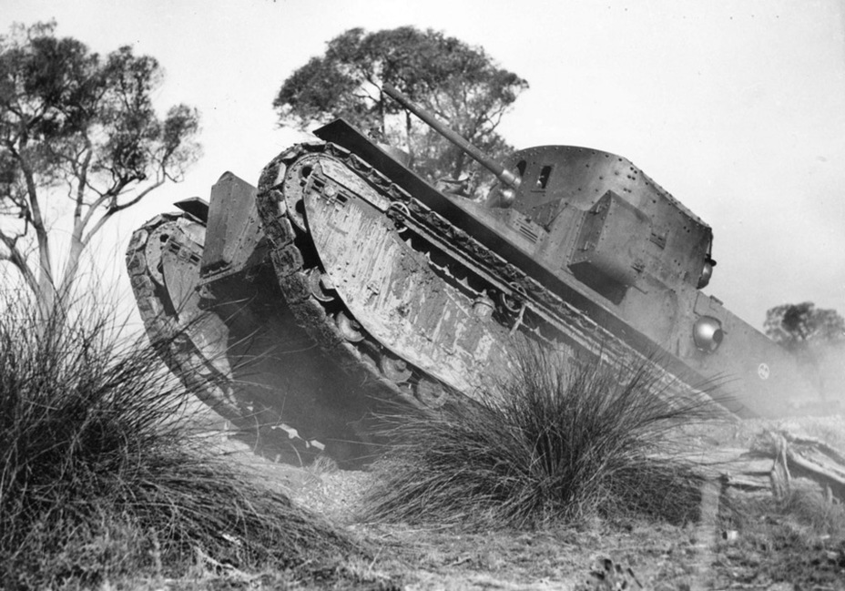 ​The Medium Mark II* Special was used by the Australian forces until the early 1940s - Medium Tank Mk.II: Interbellum Long-Liver | Warspot.net