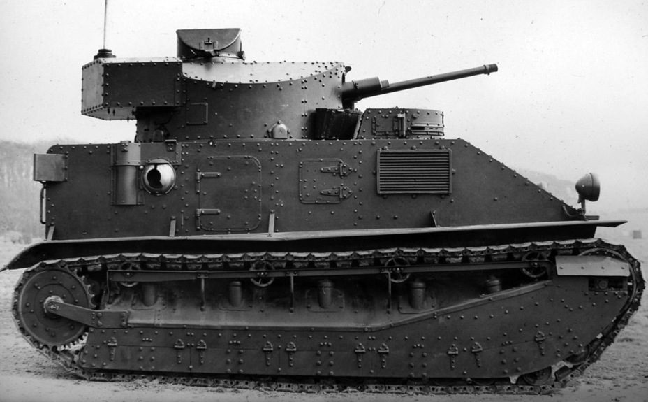 ​Medium Mark II**, the most advanced variant of the tank - Medium Tank Mk.II: Interbellum Long-Liver | Warspot.net