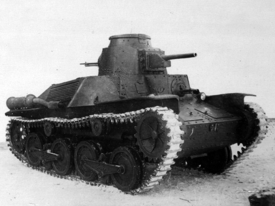 ​The same tank at the NIIBT proving grounds after repairs - Type 95 Ha-Go: Manchurian Prisoner | Warspot.net