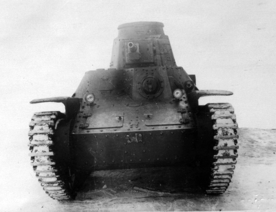 ​The same tank from the front. A Soviet horn is installed - Type 95 Ha-Go: Manchurian Prisoner | Warspot.net