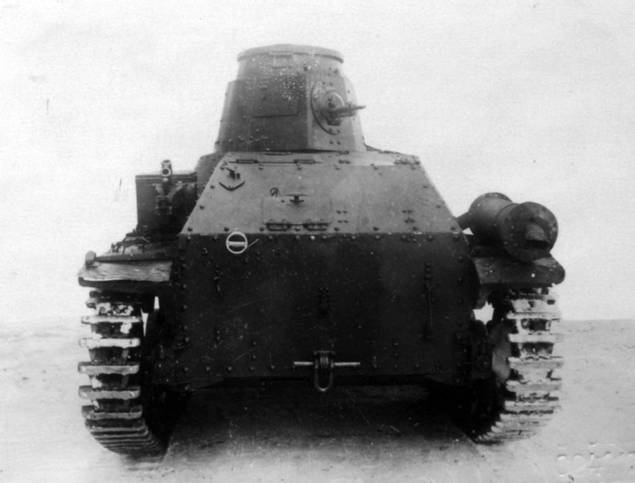 ​View from the rear. A Soviet brake signal was added instead of a Japanese one - Type 95 Ha-Go: Manchurian Prisoner | Warspot.net