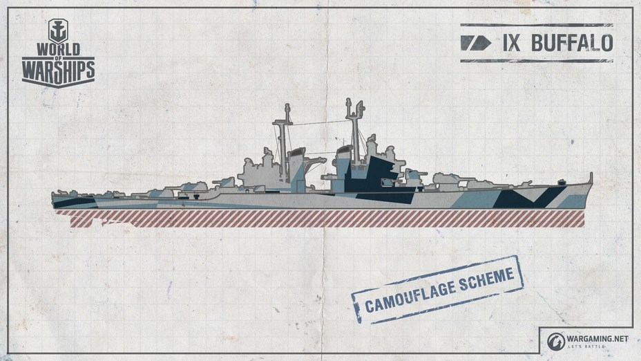 ​ - Paper Ships: Heavy Cruiser Buffalo (Project CA-B) | Warspot.net