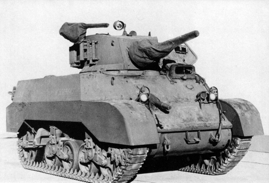​One of the first mass produced Light Tanks M3A3, fully equipped - Light Tank M3A3: American Emigrant | Warspot.net