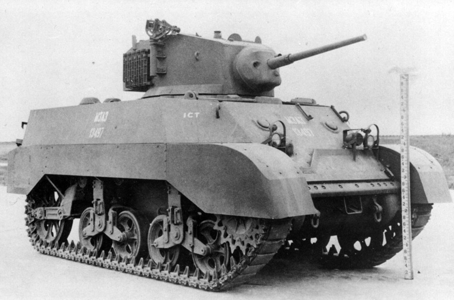 ​Late production Light Tank M3A3 - Light Tank M3A3: American Emigrant | Warspot.net